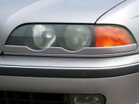 Реснички на фары BMW 5 E39 1995-2004 нижние, накладки на фары