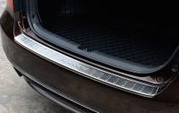 Накладка на задний бампер с загибом Honda Accord 9 2016-2019 рестайлинг