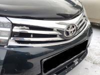 Хромированная накладка на решетку радиатора нижняя Toyota Corolla E 160 2014-2018
