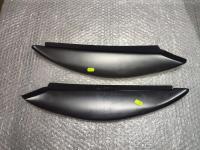Реснички широкие фары на Lada Kalina 2, накладки на фары