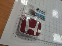 Красная эмблема H для автомобилей Honda 75701-S03-Z00 74-61 мм
