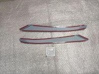 Реснички на фары Mazda CX-7 2006-2012г, накладки на фары