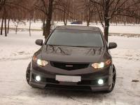 Бампер Передний Mugen style на Honda Accord 8 2008-2013 CU/CU2/TSX