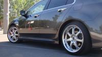 Боковые пороги Mugen style Honda Accord 8 2008-2013 CU/CU2/TSX