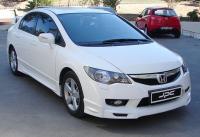 Юбка переднего бампера Mugen Honda Civic 8 4D 2009-2012