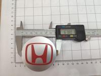 Ступичные колпачки Honda красные 68/64/11 (4шт) 44732-s9a-a00