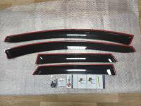 Дефлекторы окон, Ветровики Mazda CX-7 2006-2012 с креплением