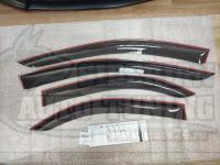 Дефлекторы окон, Ветровики Mazda 6, Atenza 2002-2007 седан