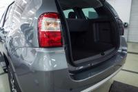 Накладка на порожек багажника без скотча Nissan Terrano 2014-2019