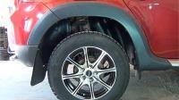Подкрылки задние Renault Duster 2010-2014 (2 шт)