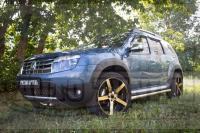 Накладки на колесные арки Renault Duster 2010-2014 (8 шт)