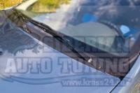 Жабо цельное без скотча Renault Logan 2010—2013