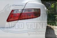 Накладки на задние фонари реснички Toyota Camry V40 2006 - 2011