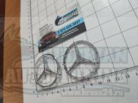 Оригинальная Эмблема хром на руль Mercedes-Benz 51 мм аирбэг