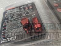 Гайки Rays 17 Hex стальные M12 Секретки