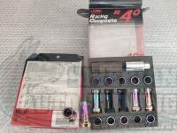 Гайки Racing composite R40 стальные M12 секретки