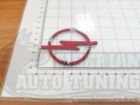 Эмблема шильдик логотип Opel в руль 70х55 мм