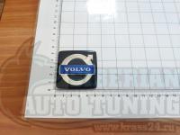 Эмблема шильдик логотип Volvo в решетку 53 мм