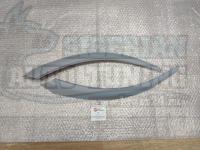 Реснички на фары Kia Rio K2 2011-2017 г, накладки на фары