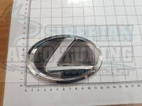 Эмблема шильдик логотип Lexus с клеевой основой 125х90 мм