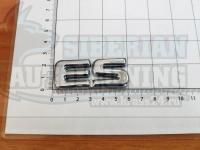 Шильдик с клеевой основой ES для автомобилей Lexus (хром)