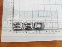 Шильдик с клеевой основой 330 для автомобилей Lexus (хром)