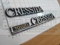 Эмблема шильдик надпись Toyota Cressida на багажник 247х33 мм