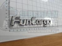 Шильдик с клеевой основой FunCargo на багажник 168*38мм