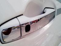 Металлические накладки на ручки двери хром Toyota Land Cruiser 200 2007-2019