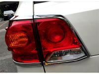 Хромированные накладки на задние фонари Toyota Land Cruiser 200 2007+