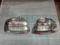 Хромированные накладки на боковые зеркала Toyota Land Cruiser 200 2007-2012