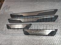 Оригинальные накладки на пороги OEM Peugeot 4007