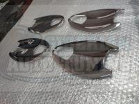 Хромированные чашечки под ручки дверей Honda CR-V 2013-2017