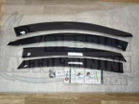 Дефлекторы окон, Ветровики Nissan Almera 2012+ с креплением