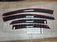 Дефлекторы окон, Ветровики Ford Focus 2 2004-2009 седан/хэтчбек