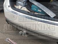Накладка на задний бампер Mazda CX-5 2017-2020 кузов KF