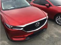 Накладка на капот над решеткой Mazda CX-5 2017-2020 кузов KF