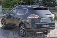 Накладка на кромку задней двери багажника Nissan X-trail 2014-2017 T32