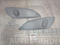 Реснички на фары Nissan X-Trail 2000-2006, накладки на фары