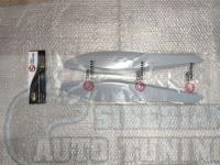 Реснички на фары Honda CR-V 2007-2011, накладки на фары
