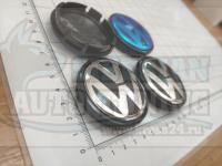 Ступичные колпачки ЦО Volkswagen 56 мм 1j0601171 (Цена за 4шт)