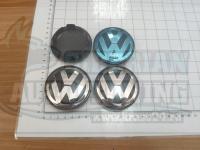 Ступичные колпачки ЦО Volkswagen 66 мм 3b7601171 (Цена за 4шт)