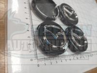 Ступичные колпачки ЦО Mazda 56 мм (Цена за 4шт)