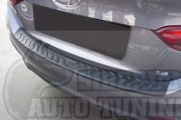 Накладка на задний бампер Hyundai Solaris 2017-н.в. седан