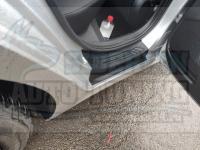 Накладки на внутренние пороги дверей Kia Rio IV 2017+