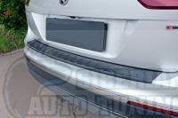 Накладка на задний бампер Volkswagen Tiguan 2017-н.в.