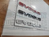 Надпись на багажник Evoque для Land Rover Range 163*15