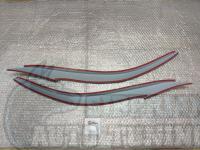 Реснички на фары Hyundai Elantra 2011-2015, накладки на фары