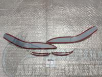 Реснички на фары Lexus LX 470 2002-2007, накладки на фары