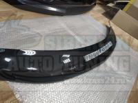 Дефлектор капота черный (спойлер, мухобойка) Mitsubishi Outlander 2005-2009г